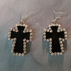 TRENDY CROSS EARRINGS